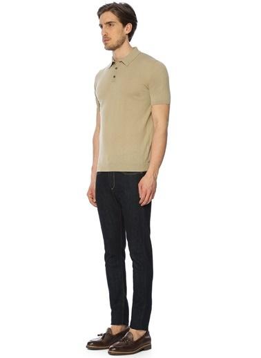 Roberto Collina Polo Yaka Tişört Taş